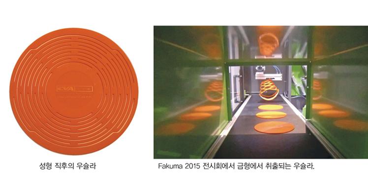 LSR 재료의 실제 물리학적 거동을 시뮬레이션할 수 있는 가상 성형